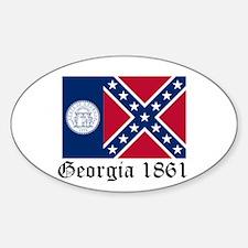 Secede Georgia Decal