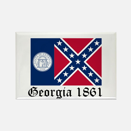 Secede Georgia Rectangle Magnet