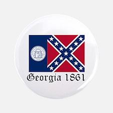 "Secede Georgia 3.5"" Button"
