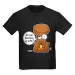 Winston - Don't touch my nuts! Kids Dark T-Shirt