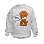 Winston - Don't touch my nuts! Kids Sweatshirt
