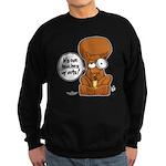 Winston - Don't touch my nuts! Sweatshirt (dark)
