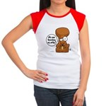 Winston - Don't touch my nuts! Women's Cap Sleeve