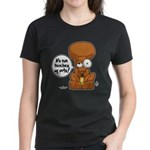 Winston - Don't touch my nuts! Women's Dark T-Shir