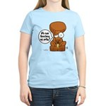 Winston - Don't touch my nuts! Women's Light T-Shi