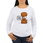 Winston - Don't touch my nuts! Women's Long Sleeve