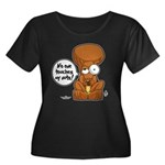 Winston - Don't touch my nuts! Women's Plus Size S