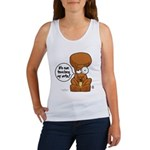 Winston - Don't touch my nuts! Women's Tank Top