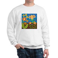 flower block Sweatshirt
