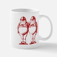 Tweedle Twins Red Mug