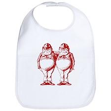 Tweedle Twins Red Bib
