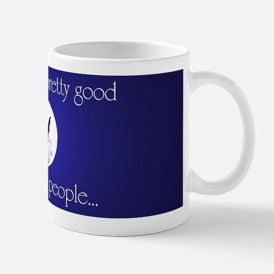 Dead People - real bat - small mug