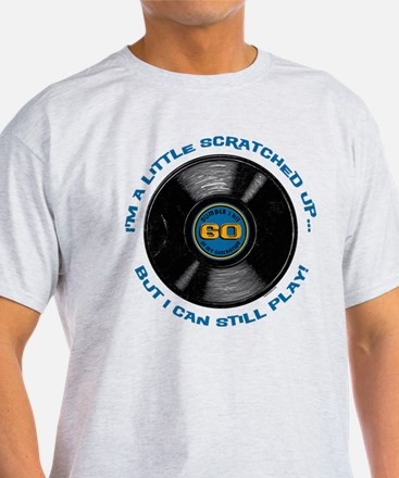 Scratched Record 60th Birthday T-Shirt