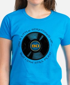 Scratched Record 90th Birthday Tee