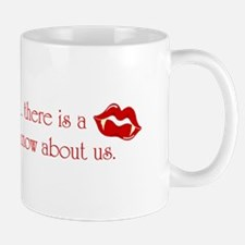Sassy Argeneauts in red - small mug