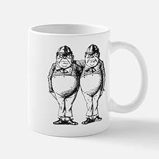 Tweedle Dee and Tweedle Dum Mugs