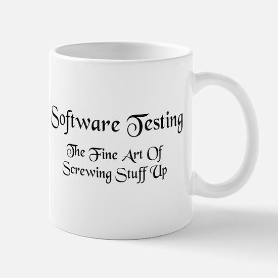 Software Testing Mug