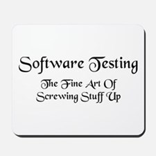 Software Testing Mousepad