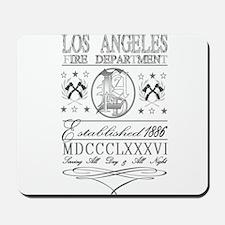 LAFD Skate Mousepad