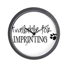 Available for imprinting Wall Clock