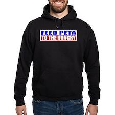 Feed PETA To The Hungry Hoodie