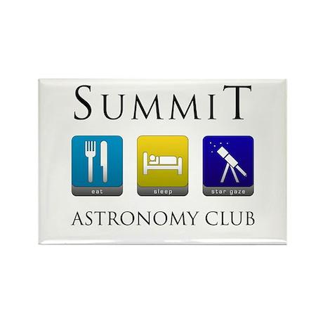 Summit Astronomy Club - Stargaze Rectangle Magnet
