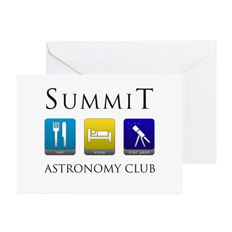 Summit Astronomy Club - Stargaze Greeting Cards (P