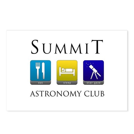 Summit Astronomy Club - Stargaze Postcards (Packag