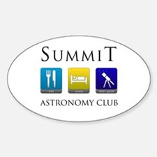 Summit Astronomy Club - Stargaze Decal