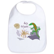 Wyatt with Lizzard Bib