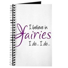 i believe in fairies color Journal