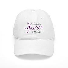 i believe in fairies color Baseball Cap