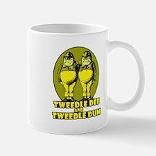 Tweedle Twins Logo Yellow Mug