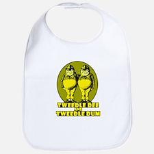 Tweedle Twins Logo Yellow Bib