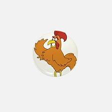 Cock Mini Button