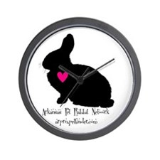 arkansas pet rabbit network Wall Clock