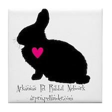 arkansas pet rabbit network Tile Coaster