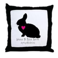 arkansas pet rabbit network Throw Pillow