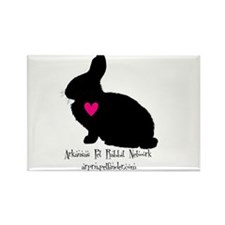 arkansas pet rabbit network Rectangle Magnet (10 p