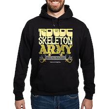 Robot Skeleton Army Hoodie