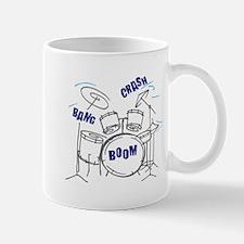 Bang Crash Boom drum set Mugs