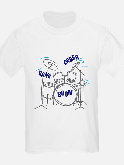 Bang Crash Boom drum set T-Shirt