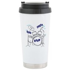 Unique Drum set Travel Mug