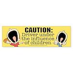 Driving under the influence-Sticker (Bumper)