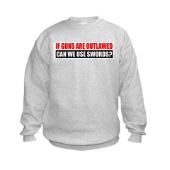 Can We Use Swords? Sweatshirt