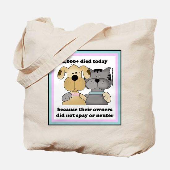 Funny Neuter Tote Bag