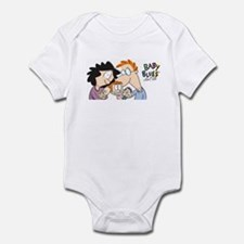 Baby Blues-Family portrait Infant Bodysuit