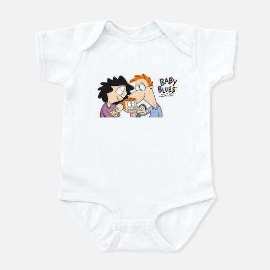 Baby Blues-Family portrait Infant Bodysuit
