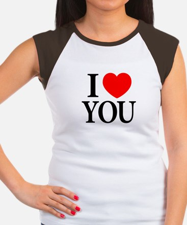 Gifts for i love you unique i love you gift ideas cafepress i love you womens cap sleeve t shirt negle Image collections