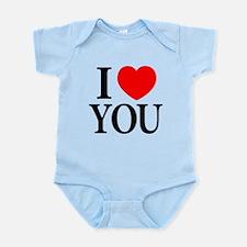I Love You Infant Creeper
